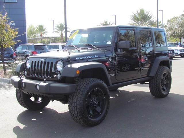 2015 Jeep Wrangler Unlimited Rubicon – Stock #CP70816