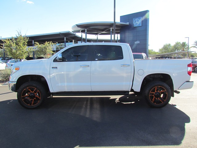 used 2016 toyota tundra 1794 crew cab for sale stock km167160 mercedes benz of tucson. Black Bedroom Furniture Sets. Home Design Ideas