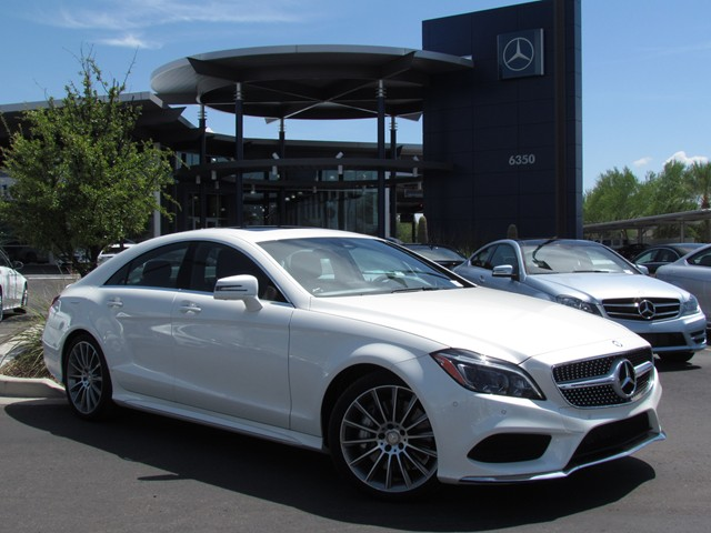 2016 mercedes benz cls cls 550 sedan m1606320 chapman for Mercedes benz 550 cls