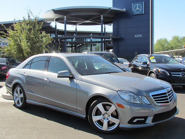 Used 2010 mercedes benz e class e350 sport for sale for Mercedes benz of tucson