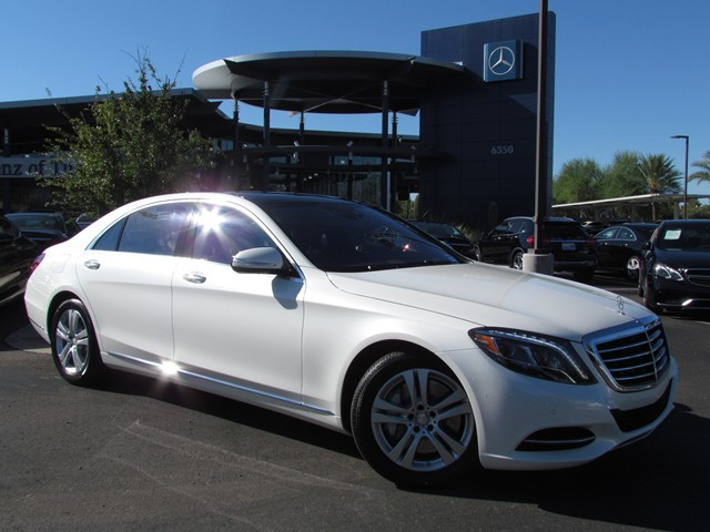 2017 Mercedes-Benz S-Class S 550 Sedan – Stock #M1701460