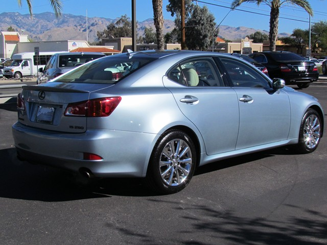 used 2009 lexus is 250 for sale stock m1702390a mercedes benz of tucson. Black Bedroom Furniture Sets. Home Design Ideas