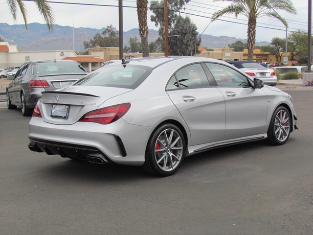 2017 mercedes benz cla amg cla 45 4matic coupe for sale stock m1703640 mercedes benz of tucson. Black Bedroom Furniture Sets. Home Design Ideas