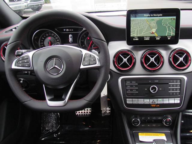 2017 Mercedes-Benz CLA AMG CLA 45 4MATIC Coupe – Stock #M1703640