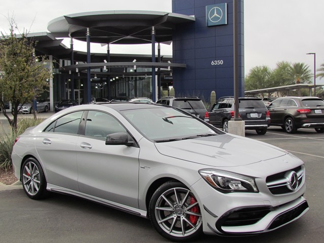 2017 mercedes benz cla amg cla 45 4matic coupe for sale for Cla mercedes benz for sale