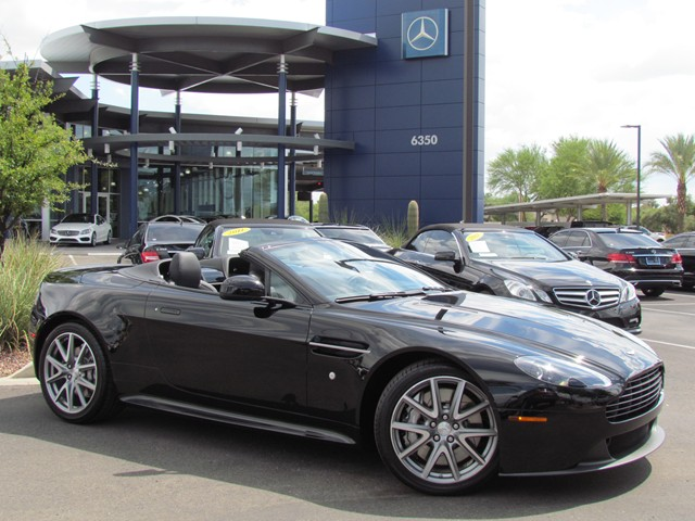 Aston Martin V Vantage GT Roadster Price Quote Request Stock - Used aston martin price