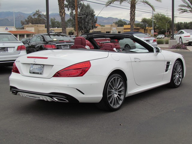 2017 mercedes benz sl class sl 450 roadster for sale stock m1703810 mercedes benz of tucson. Black Bedroom Furniture Sets. Home Design Ideas