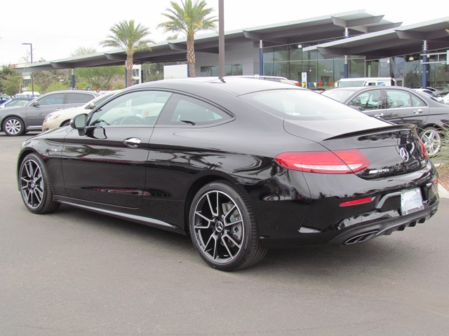 2017 Mercedes-Benz C-Class AMG C 43 4MATIC Coupe – Stock #M1703820