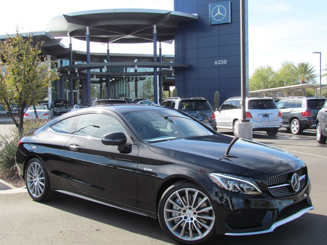 2017 Mercedes-Benz C-Class AMG C 43 4MATIC Coupe – Stock #M1704130