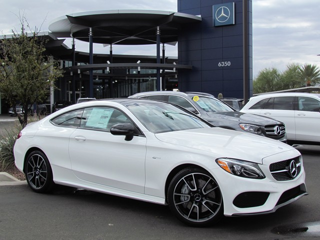2017 Mercedes-Benz C-Class AMG C 43 4MATIC Coupe – Stock #M1704230