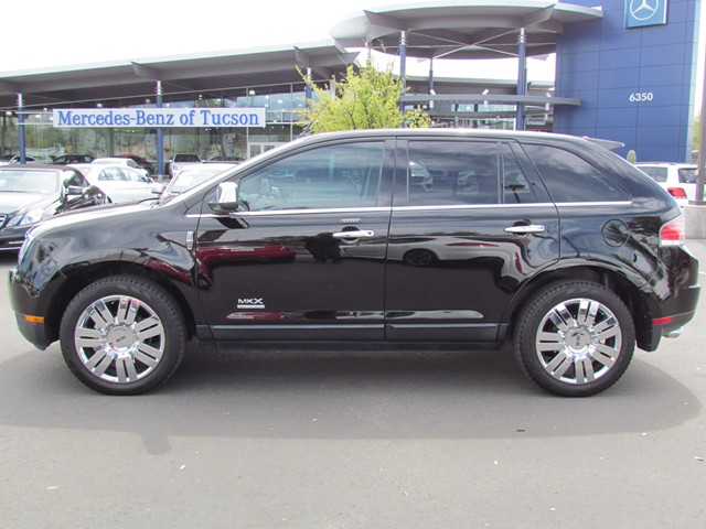 used 2008 lincoln mkx for sale stock m1704680a mercedes benz of tucson. Black Bedroom Furniture Sets. Home Design Ideas