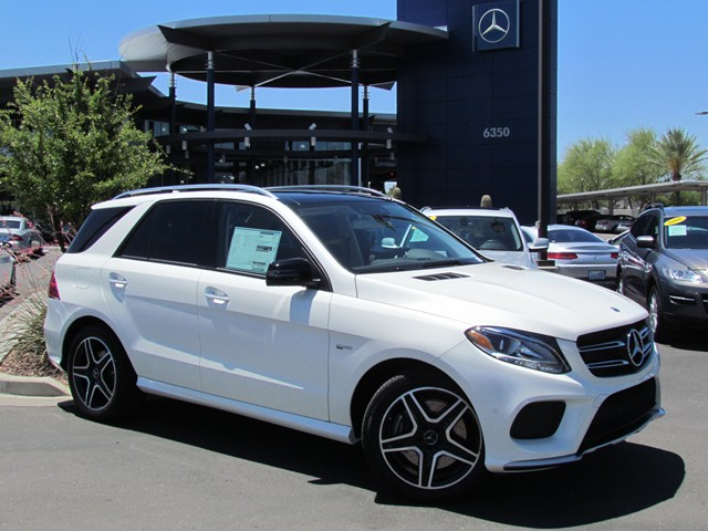 2017 Mercedes Benz Gle Amg Gle 43 4matic Suv Stock
