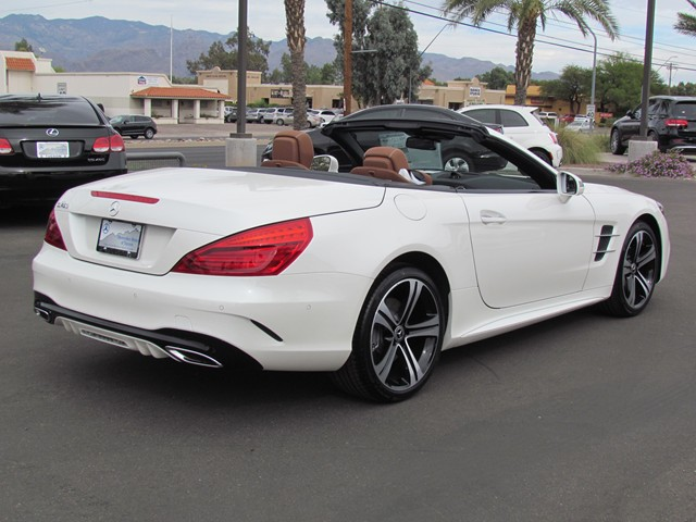 2018 mercedes benz sl class sl 450 roadster for sale stock m1801900 mercedes benz of tucson. Black Bedroom Furniture Sets. Home Design Ideas
