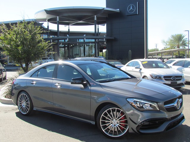 New 2019 Mercedes Benz Amg Cla 45 4matic Coupe M1901610 Mercedes