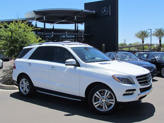Certified Pre-Owned 2015 Mercedes-Benz M-Class ML 350 4MATIC