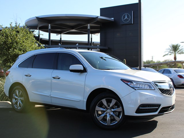 Used 2014 Acura MDX SH-AWD w/Tech Pkg