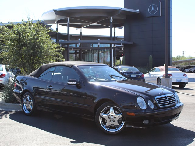 Used 2001 Mercedes-Benz CLK 320