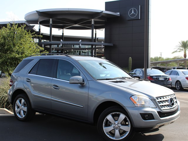 Used 2011 Mercedes-Benz M-Class ML 350 4MATIC
