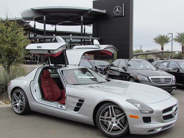 Used 2011 Mercedes-Benz SLS AMG