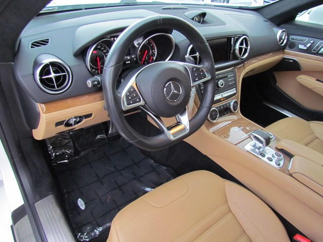 Certified Pre-Owned 2017 Mercedes-Benz SL-Class AMG SL 63