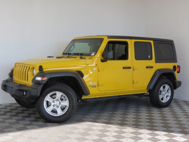 Used 2019 Jeep Wrangler Unlimited Sport