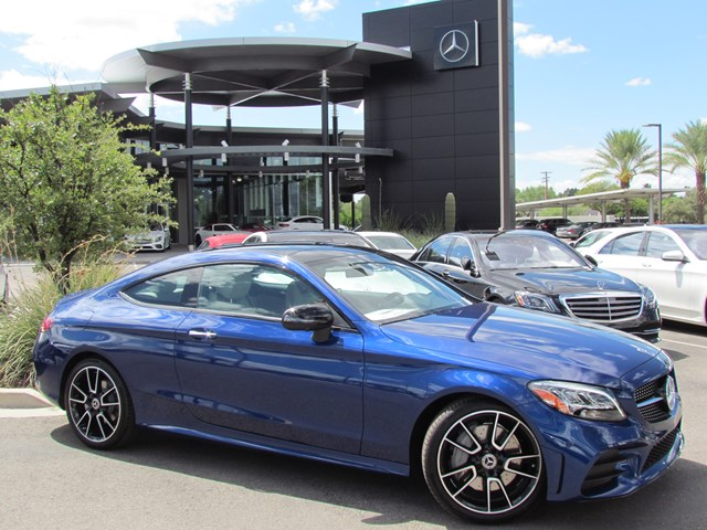 Used 2020 Mercedes-Benz C-Class C 300 Coupe