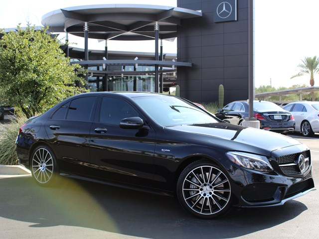 Certified Pre-Owned 2017 Mercedes-Benz C-Class AMG C 43