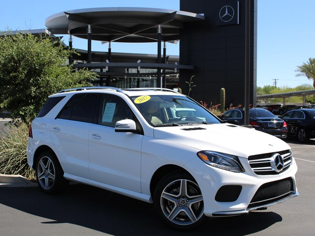 Used 2017 Mercedes-Benz GLE-Class GLE 350