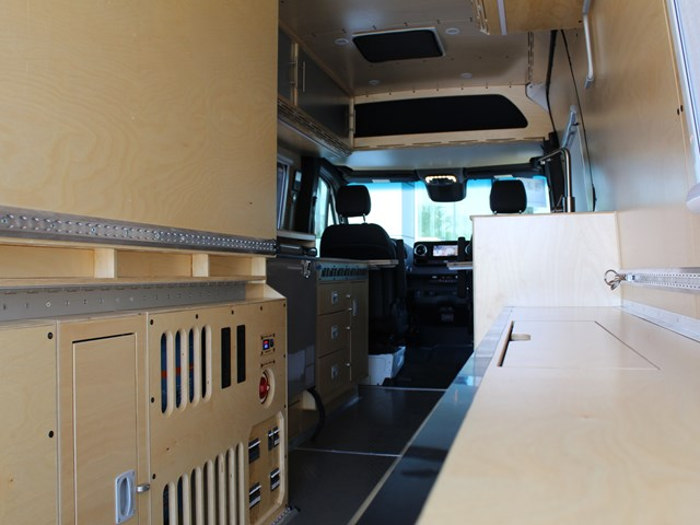 Used 2019 Mercedes-Benz Sprinter Cargo 2500 Mountain View Adventure