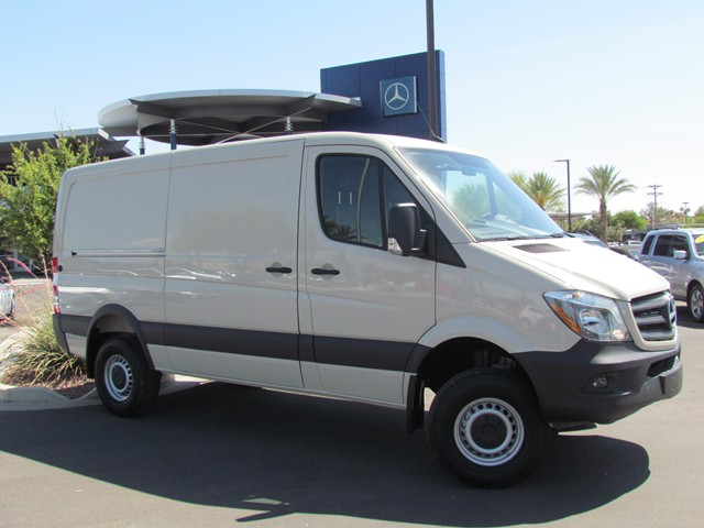 2017 mercedes benz sprinter cargo 2500 144 wb stock for Mercedes benz sprinter 2500 mpg
