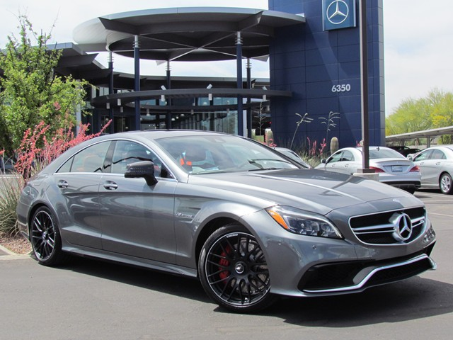2016 Mercedes-Benz CLS AMG CLS 63 S 4MATIC Sedan – Stock #M1605060