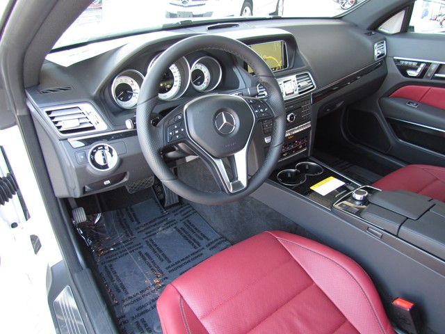 2016 Mercedes-Benz E-Class E 400 Coupe – Stock #M1605500