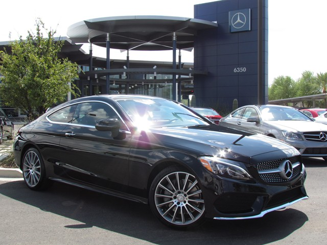 2017 mercedes benz c class c300 coupe for sale stock for Mercedes benz of tucson