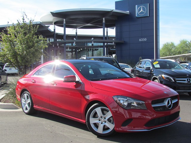 2017 Mercedes-Benz CLA CLA 250 Coupe – Stock #M1701780