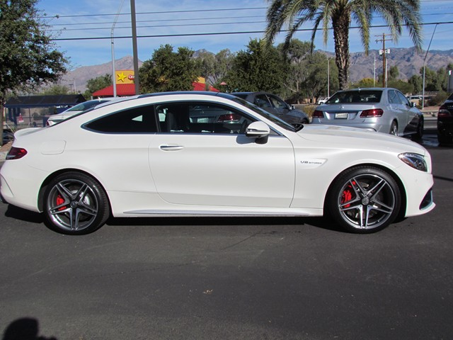 2017 Mercedes-Benz C-Class AMG C 63 S Coupe – Stock #M1702820