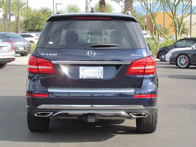 2017 Mercedes-Benz GLS GLS 450 4MATIC SUV – Stock #M1702910