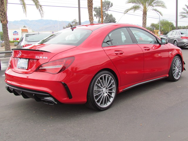 2017 mercedes benz cla amg cla 45 4matic coupe for sale stock m1703020 mercedes benz of tucson. Black Bedroom Furniture Sets. Home Design Ideas
