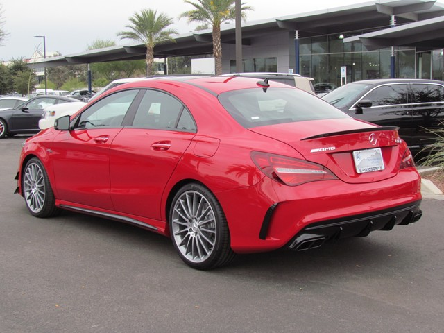 2017 Mercedes-Benz CLA AMG CLA 45 4MATIC Coupe – Stock #M1703020