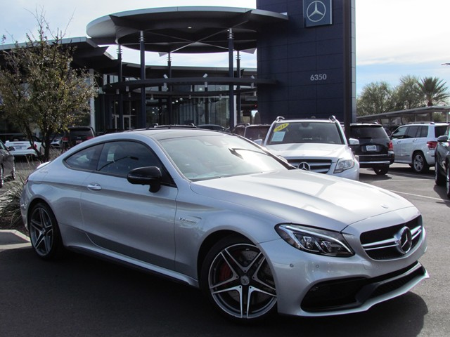 2017 Mercedes-Benz C-Class AMG C 63 S Coupe – Stock #M1704020