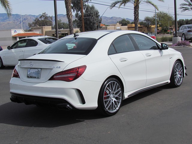 2017 mercedes benz cla amg cla 45 4matic coupe for sale stock m1704460 mercedes benz of tucson. Black Bedroom Furniture Sets. Home Design Ideas