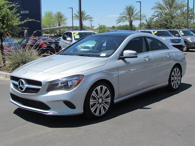 2018 mercedes benz cla cla 250 coupe stock m1800010 for Mercedes benz cla 250 msrp
