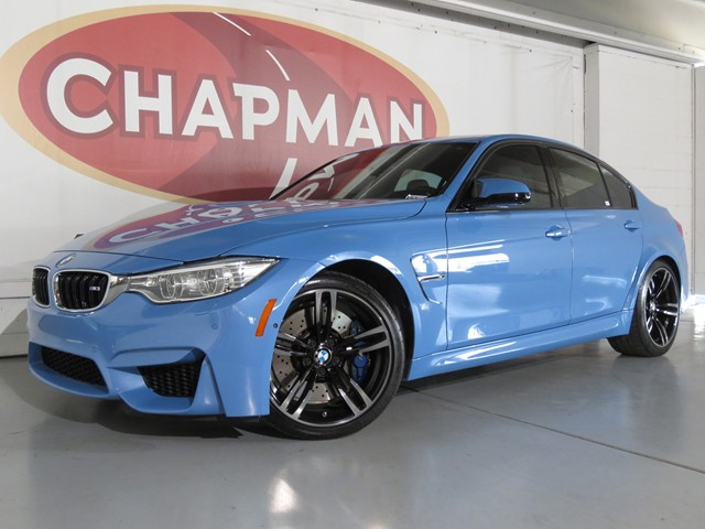 2016 Bmw M3 Test Drive Request Stock D1902000a Chapman Palo
