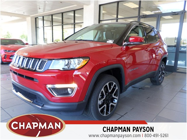 2017 jeep compass limited for sale stock 17595 chapman payson auto center. Black Bedroom Furniture Sets. Home Design Ideas