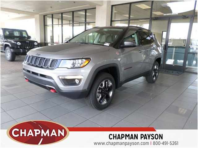 2018 jeep compass trailhawk for sale stock 18577 chapman payson auto center. Black Bedroom Furniture Sets. Home Design Ideas