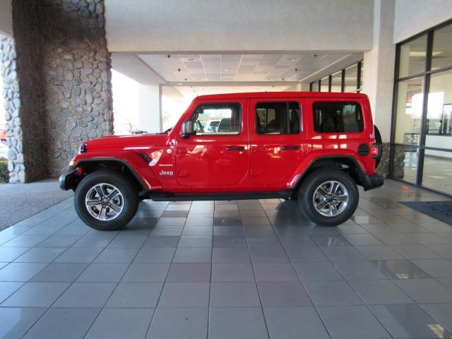 New 2020 Jeep Wrangler Unlimited Sahara