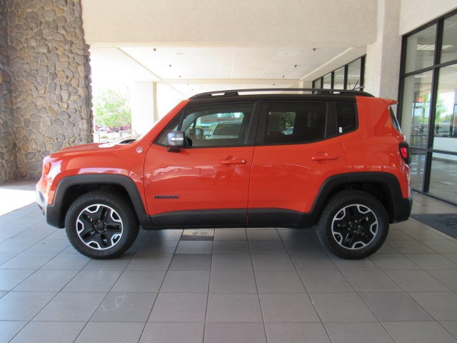 Used 2015 Jeep Renegade Trailhawk 4WD