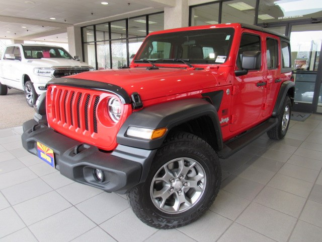 Used 2020 Jeep Wrangler Unlimited Freedom Sport 4WD