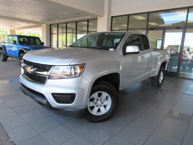 Used 2020 Chevrolet Colorado Work Truck Extended Cab