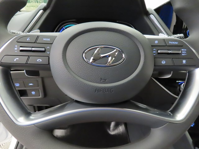 2021 Hyundai Sonata Hybrid Blue