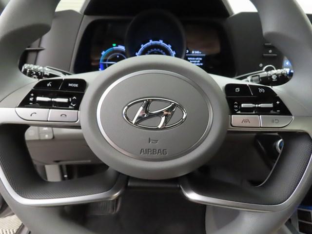 2021 Hyundai Elantra Hybrid Blue